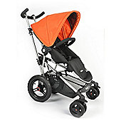 Micralite Toro Pushchair, Black/Orange