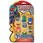 Justice League Mashems Series 1 Value Pack Toy Figure Set of 6