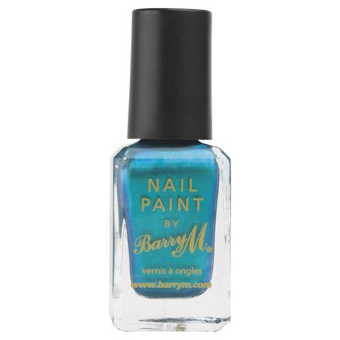 Barry M Nail Paint 334 Teal 10Ml