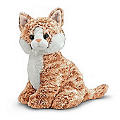 Melissa And Doug Plush Tabby Pumpkin