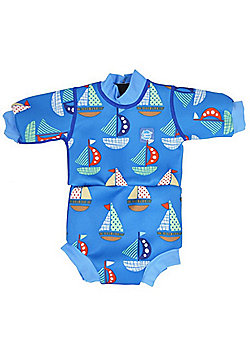 Splash About Baby Mini Wetsuit - Set Sail - Blue