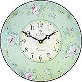 "Roger Lascelles Clocks Nottingham Lacemaker""s Rose Wall Clock"