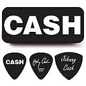 Johnny Cash Heavy Pick Tin