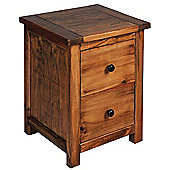 Core Products Denver DN510 Aged Wood Bedside Table