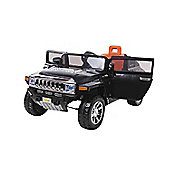 12V Hummer Ride On Car Black