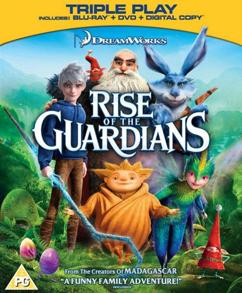 Rise Of The Guardians Blu-Ray Triple Play (Blu-Ray + DVD + Digital Copy)