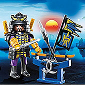 Playmobil Special Plus Samurai with Weapon Stand