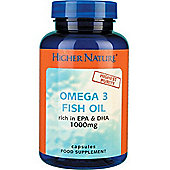Higher Nature Omega 3 1000mg 90 Capsules