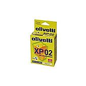Olivetti Monoblock Inkjet Cartridge 3-Colour for Artjet20 B0218R/XP02