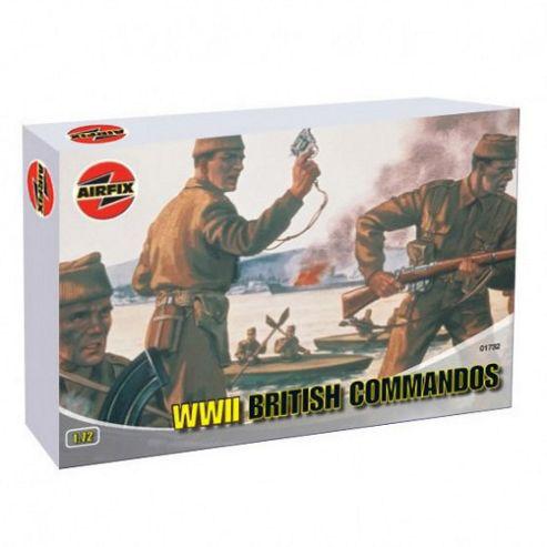 WWII British Commandos (A01732) 1:72