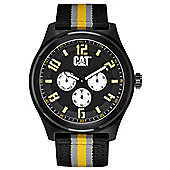 CAT Track Mens Fabric Day & Date Seconds Sub Dial Watch PP.169.64.134