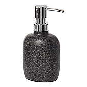 Linea 100% Acrylic Glitter Soap Dispenser In Grey