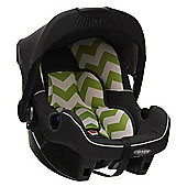 OBaby Group 0+ Infant Car Seat (ZigZag Lime)