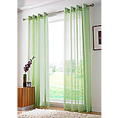 Plain Ring Top Voile - Green