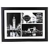 London Framed Multi Print 50x37cm