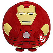 "Ty Marvel Iron Man Medium 8"" Beanie Ballz"