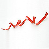HeadSprung Ribbon Coat Hooks - Glossy Red