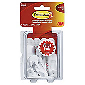 Command Medium Hooks Small Strips Value 6pk