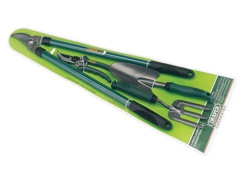 Draper 64968 Garden Lopper & 4-piece Tool Set