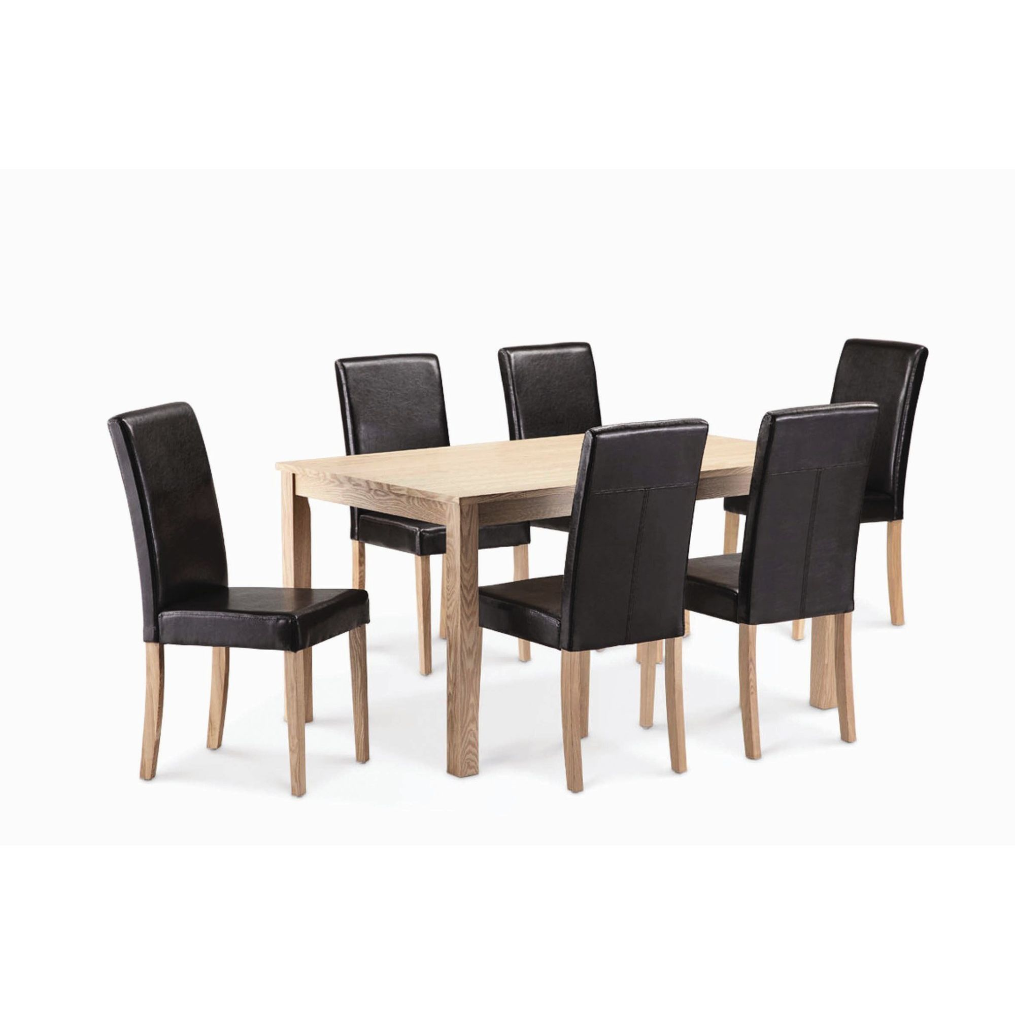 Home Zone Ashby 7 Piece Dining Set at Tesco Direct