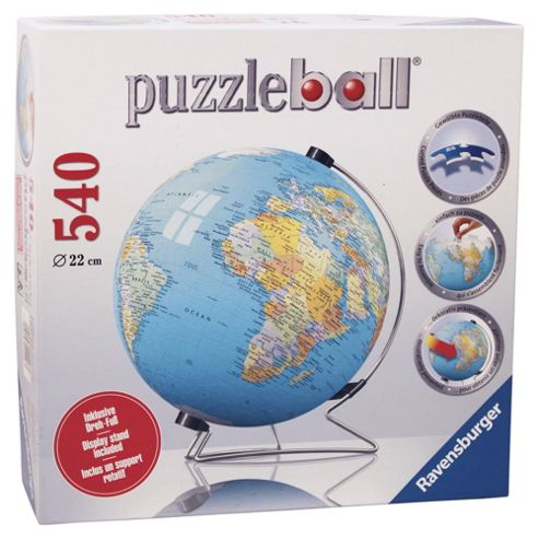 Ravensburger The World 540 Piece Jigsaw Puzzleball