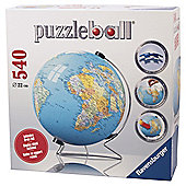 Ravensburger The World Globe 540-Piece Jigsaw Puzzleball