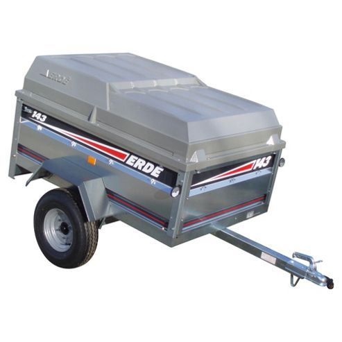 Erde CP150 ABS Cover for a 143 or 153 Trailer