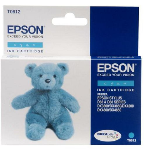 Epson T0612 printer ink cartridge - Cyan