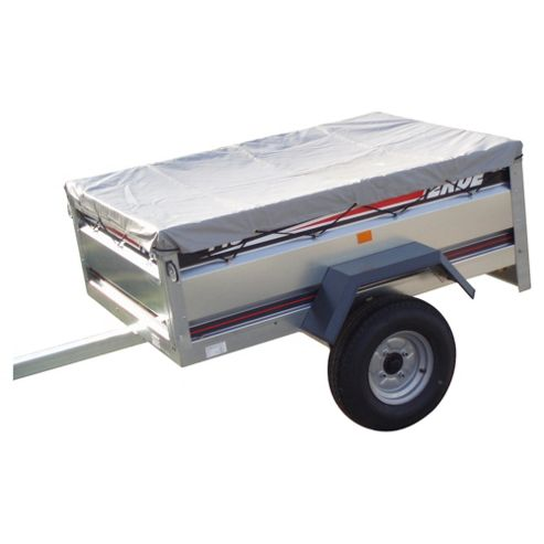 Erde BP150 Flat Cover for a 143 or 153 Trailer