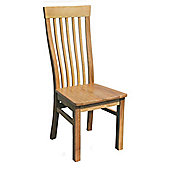 Oakinsen Newtown Timber Seat Chair