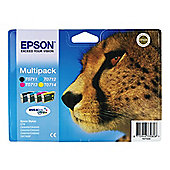 Epson T0715 Printer ink cartridge , Black & colour
