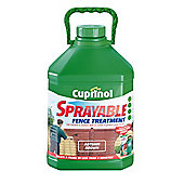 Cuprinol Sprayable Autumn Brown 5L