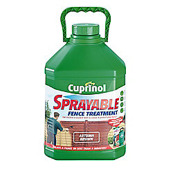 Cuprinol Sprayable Timbercare, 5L, Autumn Brown