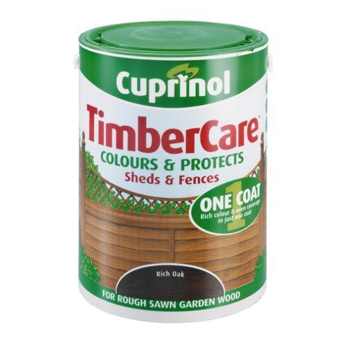 Cuprinol Timbercare, 5L, Rich Oak