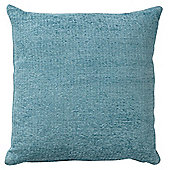 F&F Home Chenille Cushion, Duck Egg