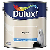Dulux Matt Emulsion Paint, Magnolia, 2.5L
