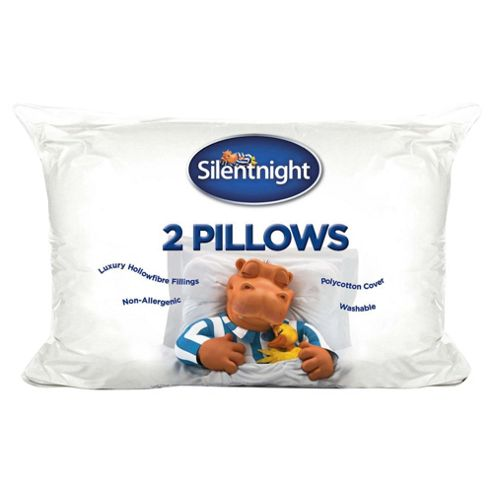 Silentnight Hollowfibre Pillows, Twinpack