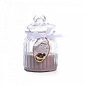 Grandma Memory' Glass Jar Scented Candle - Fudge