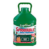 Cuprinol Sprayable Forest Green 5L