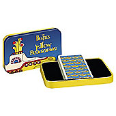 Cartamundi Beatles Sub Playing Card Tin Yellow