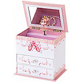 Abigail Ballet Musical Jewellery Box
