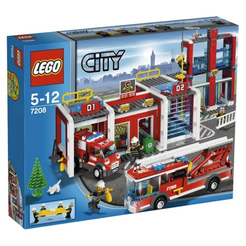 LEGO City Firestation 7208