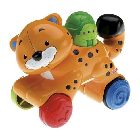 Fisher-Price Amazing Animals Press & Go Animal- Assortment ? Colours & Styles May Vary