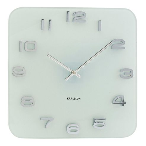 Karlsson Vintage Wall Clock - White