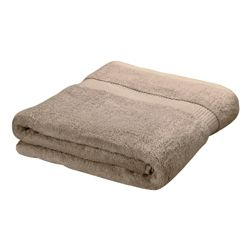Finest Hygro Cotton Bath Towel, Taupe