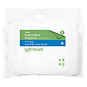 Tesco Soft Touch King Duvet 4.5tog with AA treatment