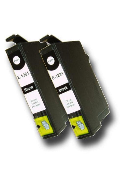 The Ink Squid Chipped Compatible Epson Fox T1281 Ink Cartridges Black