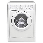 Indesit Ecotime Washer Dryer, IWDC 6125 (UK), 6KG load, with 1200 rpm - White