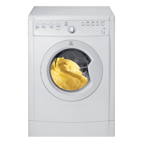 Indesit IDVA735 Vented Tumble Dryer, 7Kg Load, B Energy Rating, White