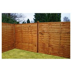 Mercia Waney Edge Horizontal Fencing x3